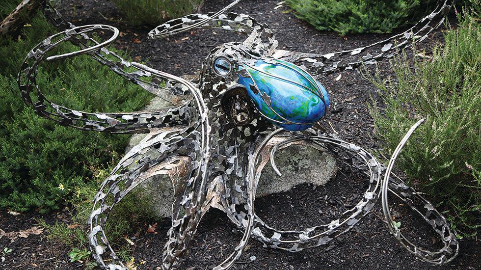 Chris Williams Sculpture in Essex, MA