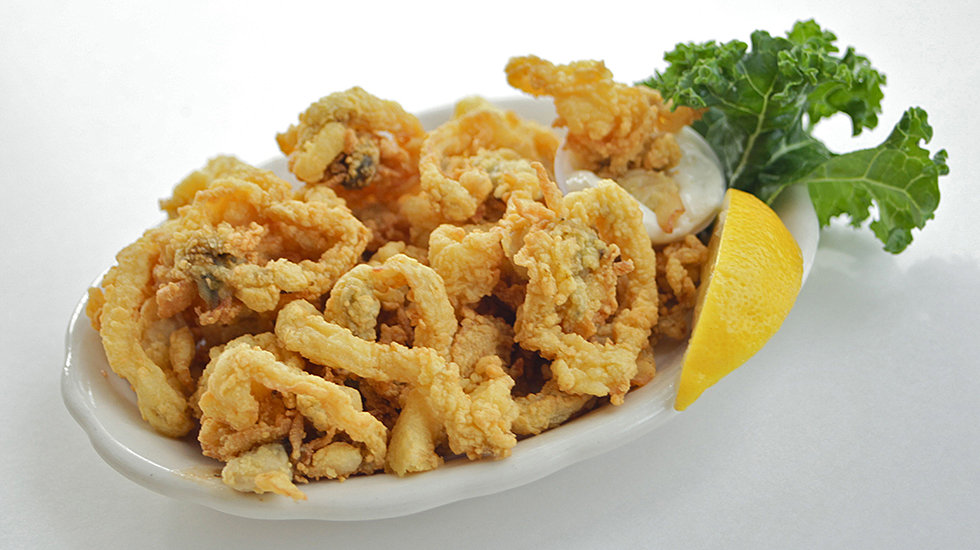Fried Clams at the Village Restaurant in Essex, MA