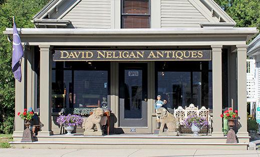 David Neligan Antiques in Essex, MA