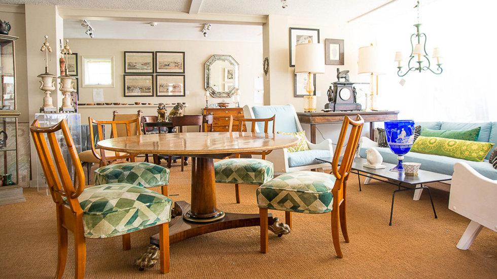 Andrew Spindler Antiques & Design in Essex, MA