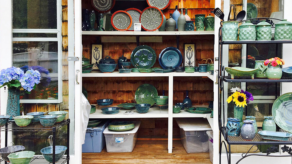 Wheelworks Pottery in Essex, MA