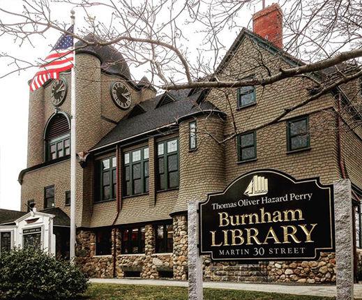 T.O.H.P. Burnham Public Library in Essex, MA