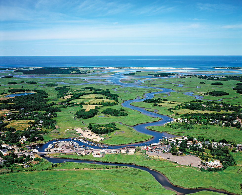 Aerial Photo of Essex, MA