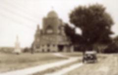 Essex Town Hall and T.O.H.P. Burnham Public Library, MA, circa 1915