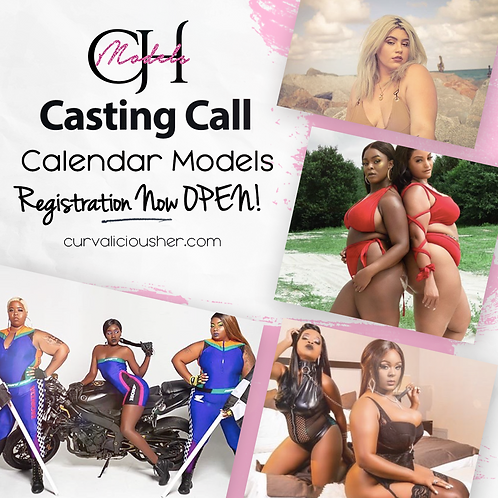 Calendar Model Casting Pre Registration