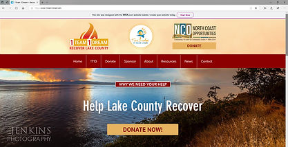 1Team 1Dream - Recover Lake County | Wildfire Relief