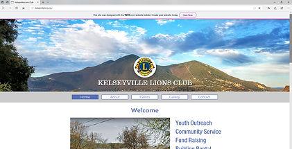 Kelseyville Lions Club |  Kelseyville, CA