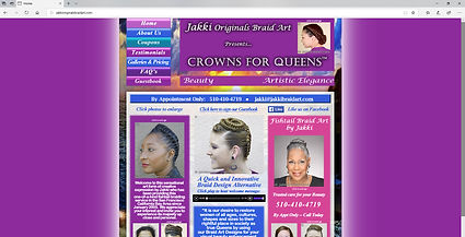 Jakki Originals Braid Art, Crowns for Queens | Concord, CA