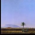 Le village abandonné 100x100cm - Lithographie 60x60cm