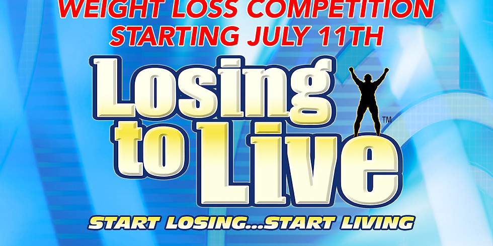 Losing To Live Weight Loss Competition