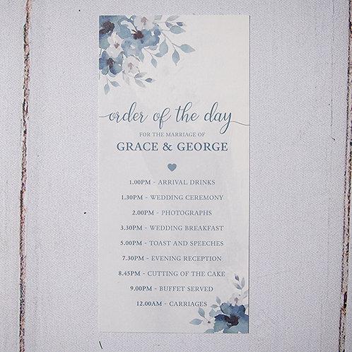 Laurel Order of Day Card