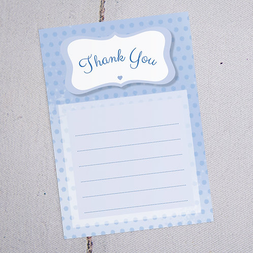 Dotty Thank You Note Cards