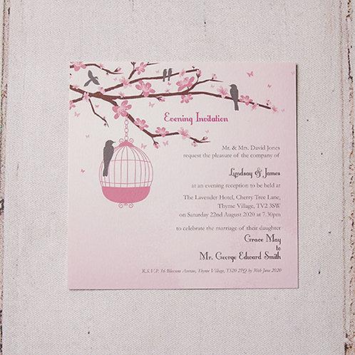 Erin Flat Evening Invitation