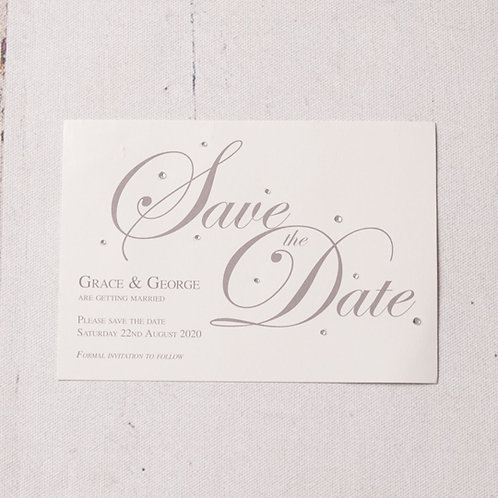 Emma Save the Date Postcard