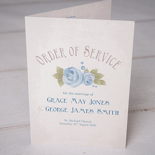 Polly Order of Service