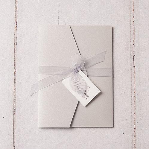 Emma Pocket Wedding Invitation