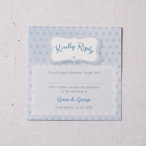 Dotty Reply Card