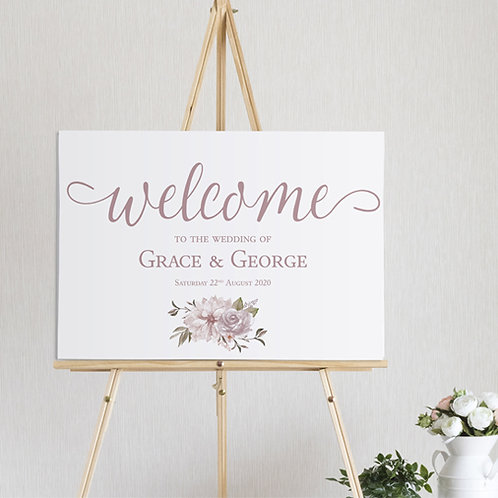 Summer Welcome Sign