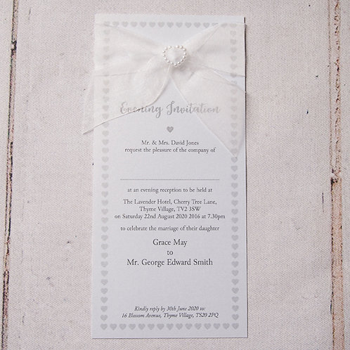 Bryony Flat Evening Invitation