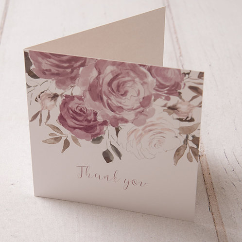 Jessica Thank You Card