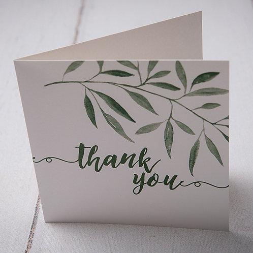 Sorrento Thank You Card