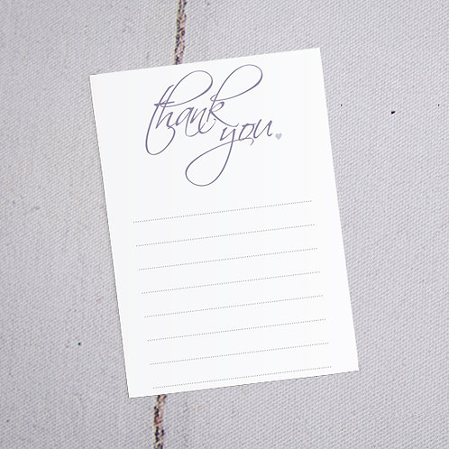 Grace Thank You Note Cards