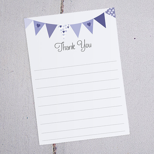 Ava Thank You Note Cards