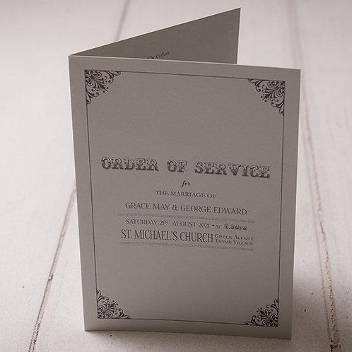 Sadie Order of Service