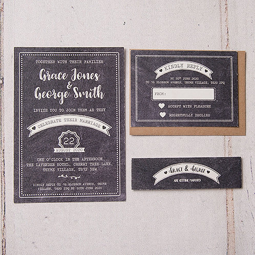 Harper Wedding Invitation Bundle