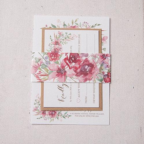 Belle Wedding Invitation Bundle