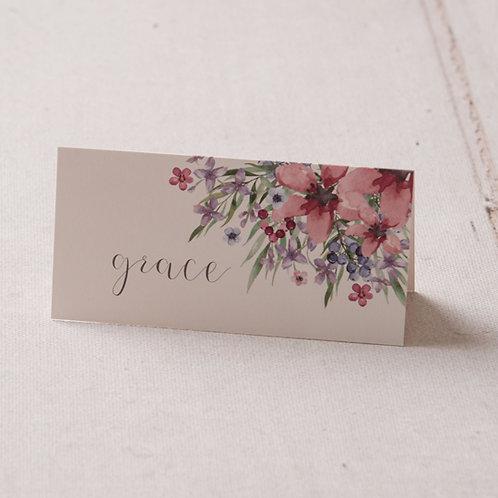Flora Place Card