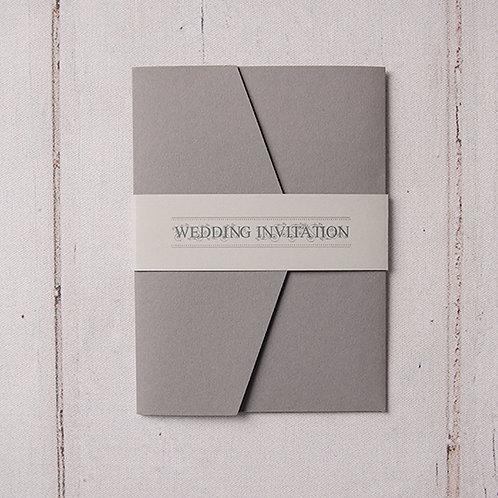 Sadie Pocket Wedding Invitation
