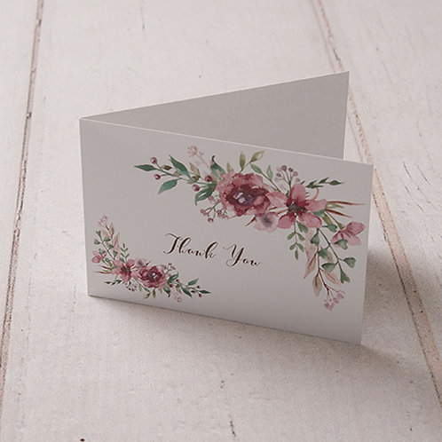 Belle Thank You Card