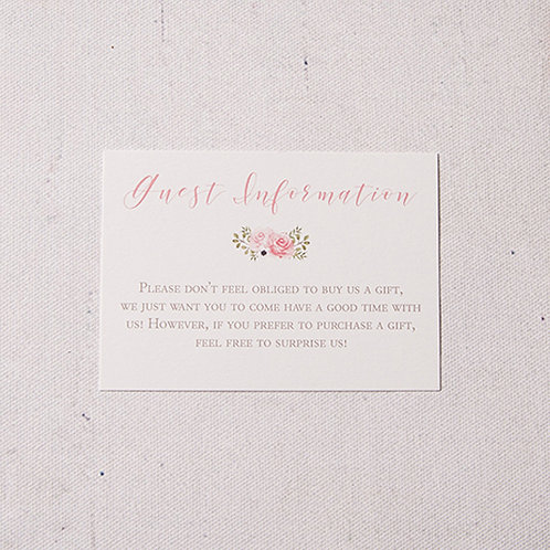 Fleur Information Card