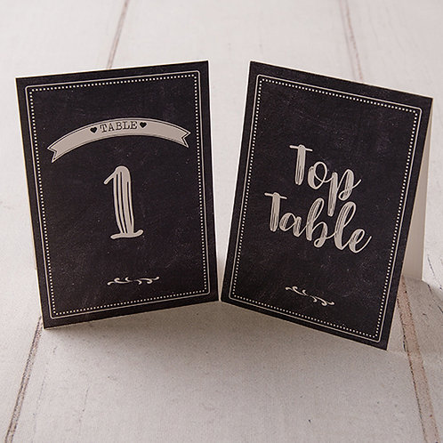 Harper Table Number