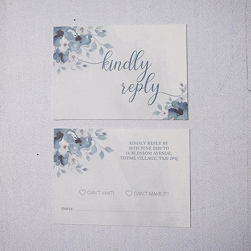 Laurel Reply Card
