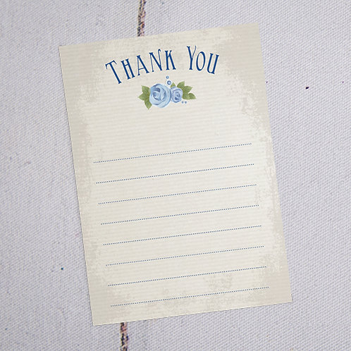 Polly Thank You Note Cards