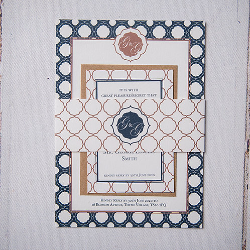 Milan Wedding Invitation Bundle