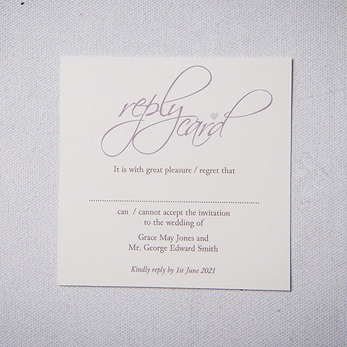 Grace Reply Card