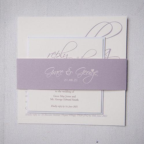 Grace Wedding Invitation Bundle