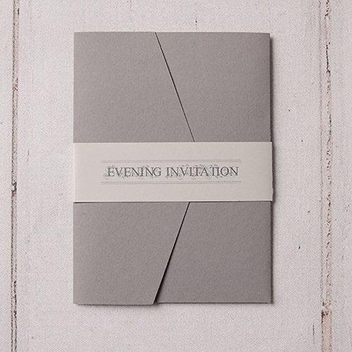 Sadie Pocket Evening Invitation