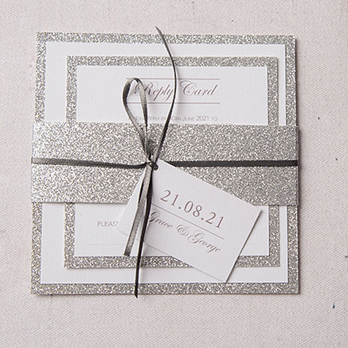 Rebecca Square Wedding Invitation Bundle