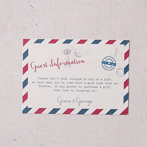 Sky Information Card