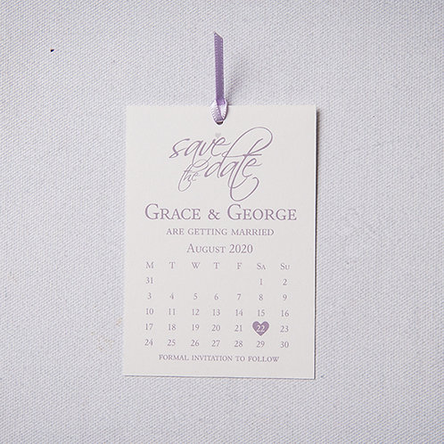 Grace Save the Date