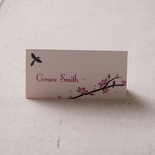 Erin Place Card