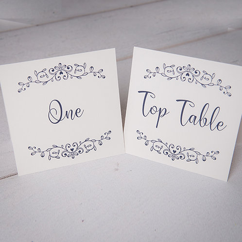 Paige Table Number