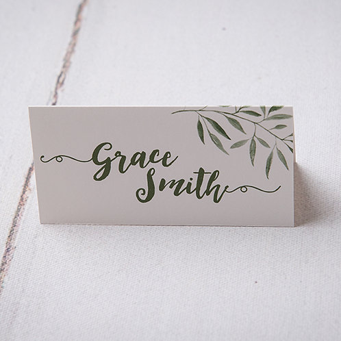 Sorrento Place Card