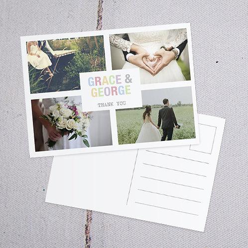 Freya Thank You Postcard