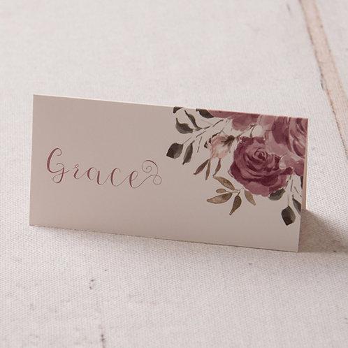 Jessica Place Card