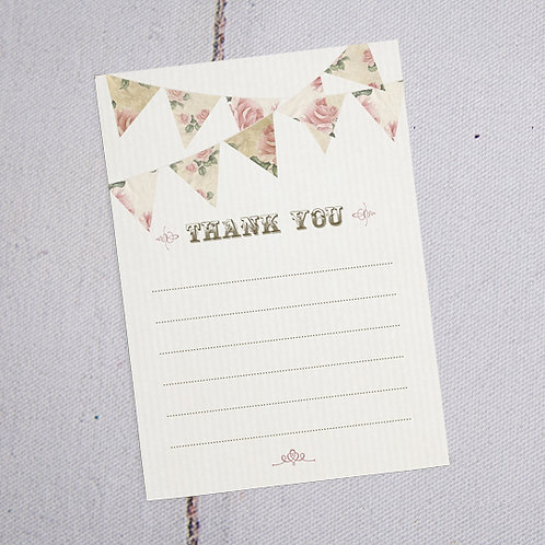 Savannah Thank You Note Cards